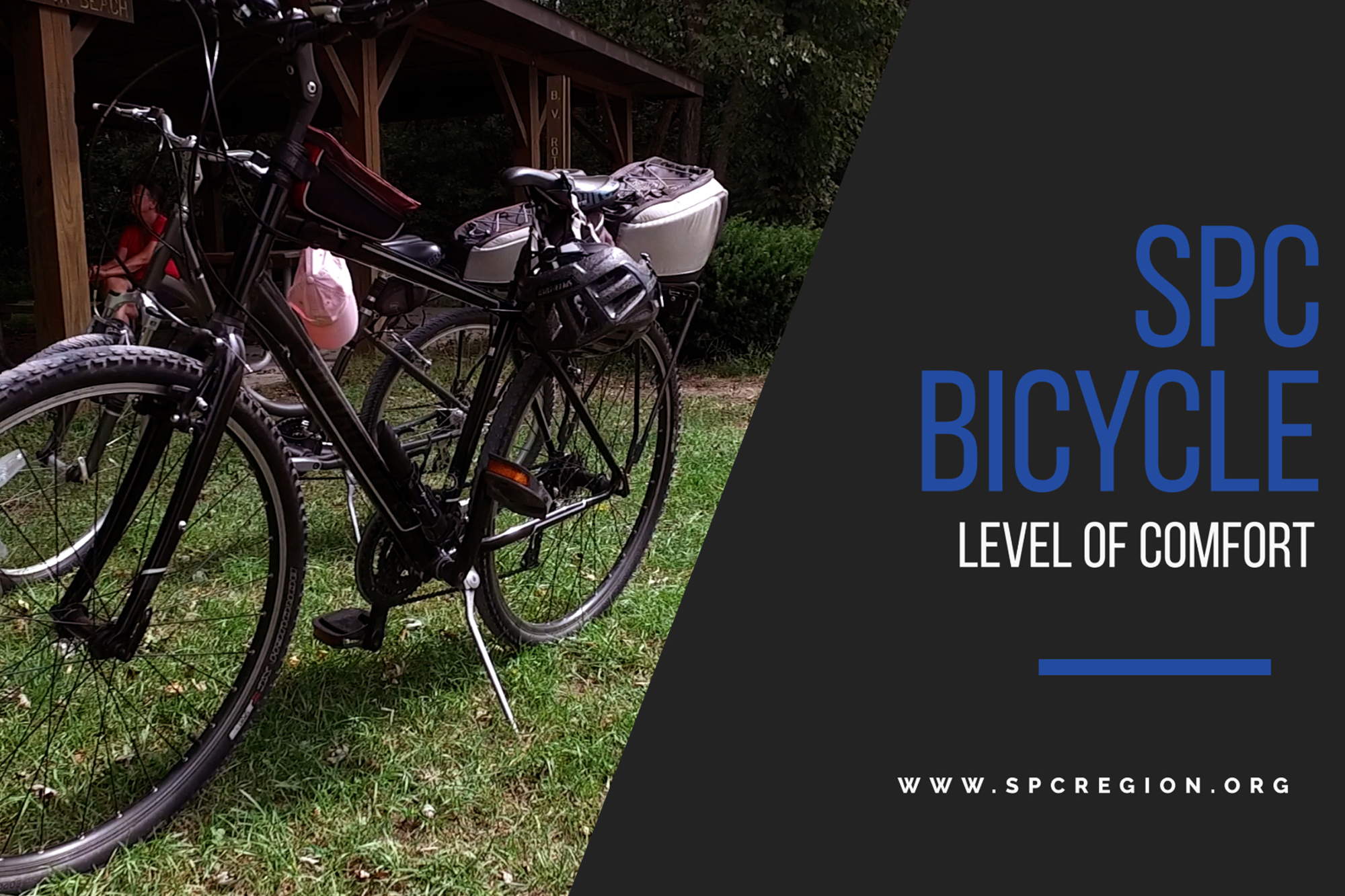 Title Screen of a Bicycle Level of Comfort Video